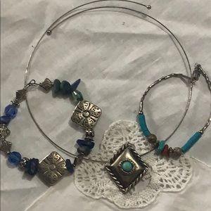 Native American Turquoise jewelry set